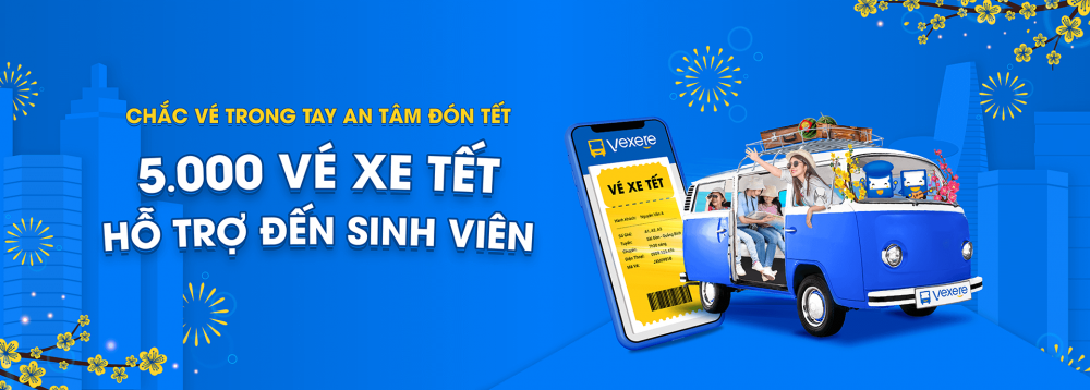 Mua vé xe Tết 2021 trực tuyến tiện lợi, không cần chờ đợi tại VeXeRe.com