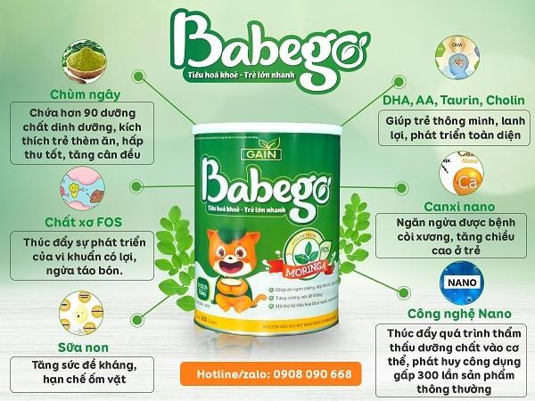 Review sữa Babego cho các mẹ luôn luôn chăm sóc cho con mình