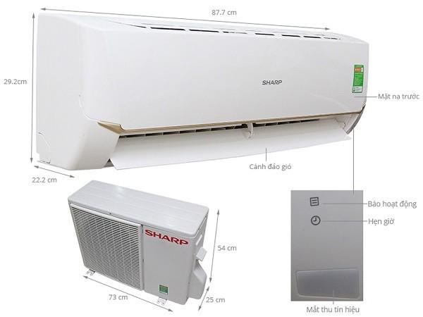 Top máy lạnh Sharp tiết kiệm điện nhất nên mua cho hè 2021